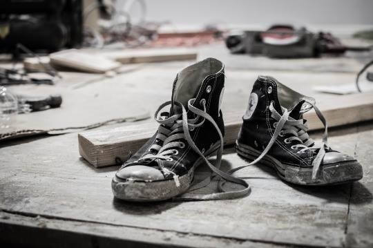 How to Clean Your Converse Shoes by Mark St. James | Details