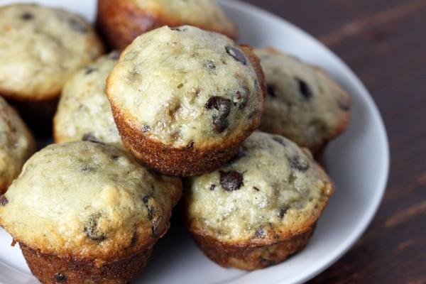 Banana Chocolate Chip Mini Muffins Today Com