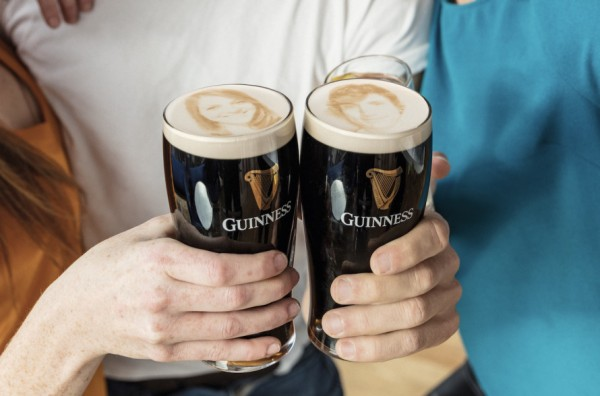 how to pour a pint of guinness from a can