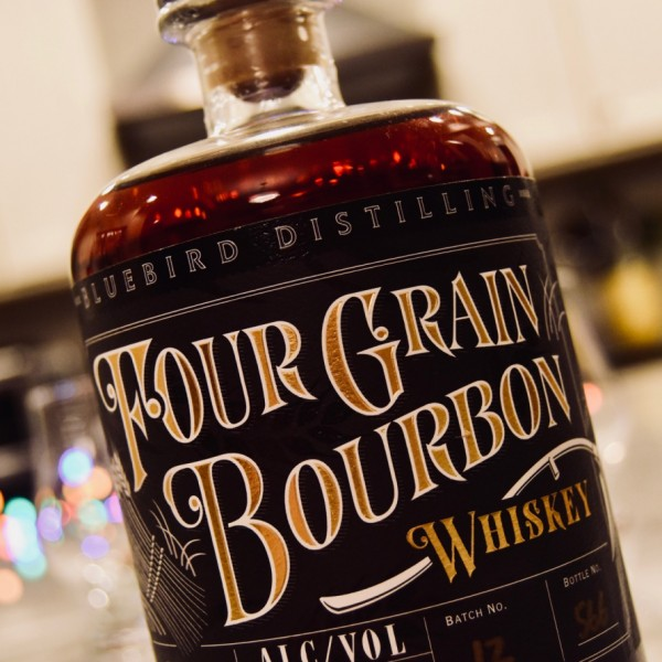 Whisky Review – Bluebird Distilling Four Grain Bourbon