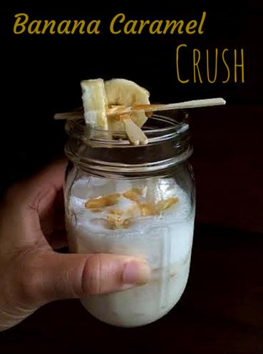 Banana Caramel Crush Drink Recipe Cocktails Drinkwire