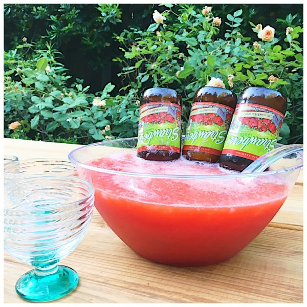 8077512fb6aa Strawberry Beer Margaritas