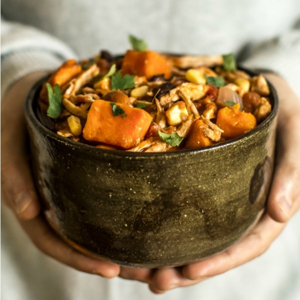 Easy Chipotle Chicken Chili Slow Cooker Recipe Today Com