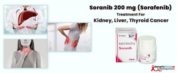 Soranib 200 Mg Sorafenib Treatment For Kidney Liver Thyroid Cancer Today Com